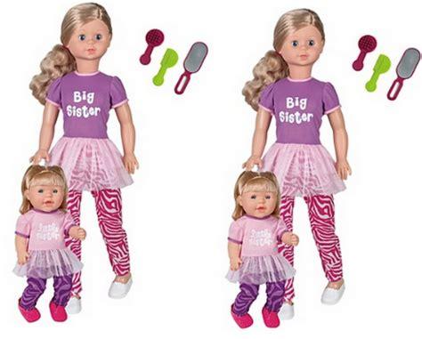 big dolls house big sister little sister dolls 163 15 asda direct