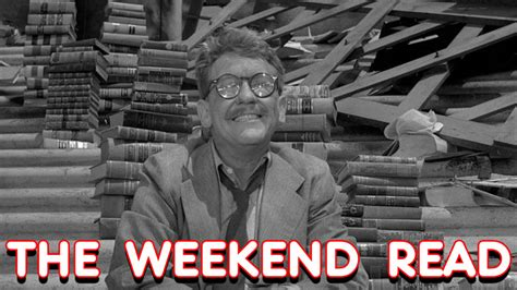 Weekend Read by The Weekend Read Gotham Of Darkness And Fort