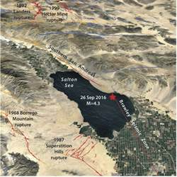 california earthquake prediction map california issues one week earthquake advisory for san