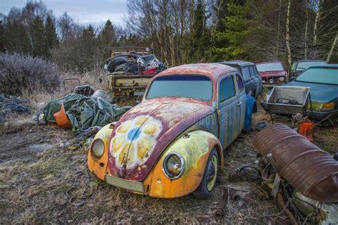 volkswagen scrap yards scrapyard for cars volkswagen stock photography image