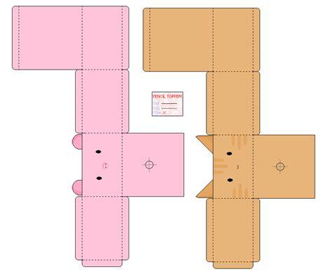 Kawaii Papercraft - kawaii box papercraft templates pictures to pin on