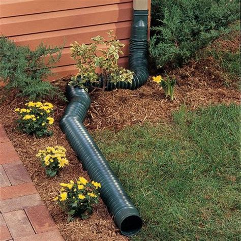flex  spout downspout diverter raised beds beds