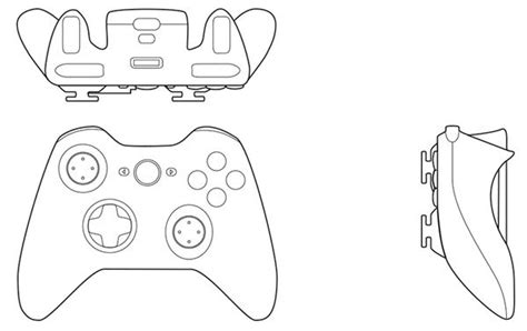 Drawing Xbox Controller by 9 Best Drawing Images On Technical Drawings