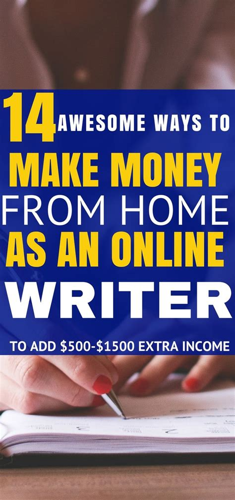 Best Place To Make Money Online - these 14 places to make money from home as on online writer are seriously the be