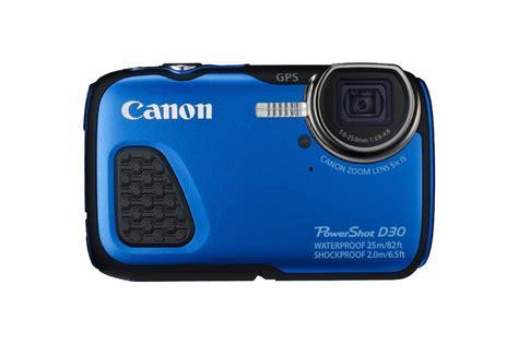 canon waterproof digital canon powershot d30 waterproof digital announced