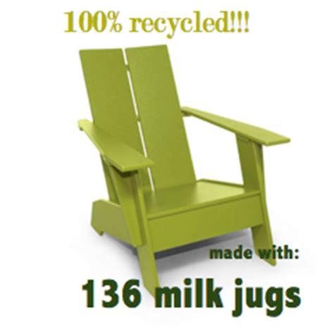 Recycled Milk Jug Chairs by Custardbydesign June 2010