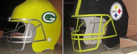 How To Make A Paper Mache Football Helmet - tablets from the mountaintop uni