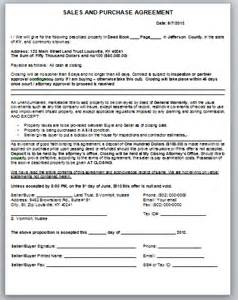 how to fill out a sales and purchase contract and
