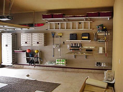 organisation de garage dressing idees