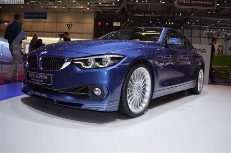 bmw alpina b4 2017 geneva bmw alpina b4 s with facelift and update to