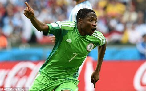 ahmed musa s goals vs argentina make him nigeria