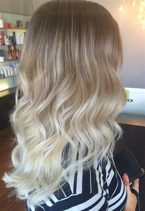 pictures of blondes who ombred their hair to have dark roots 40 glamorous ash blonde and silver ombre hairstyles