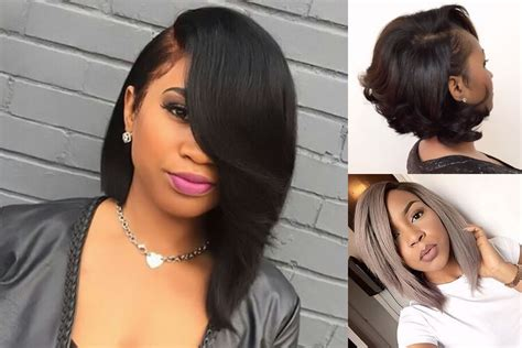 best 45 bob hairstyle for black hair color ideas