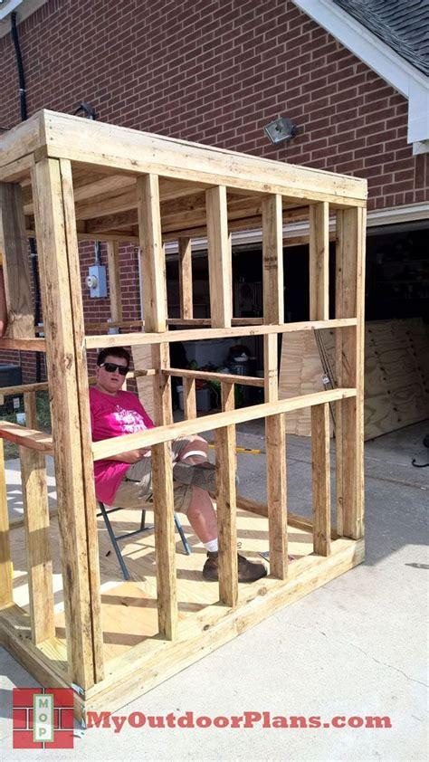 diy deer blind myoutdoorplans  woodworking plans
