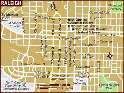 raleigh map map of raleigh