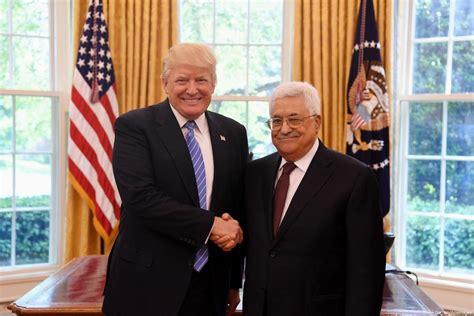 donald trump palestine mahmoud abbas goes to washington middle east monitor