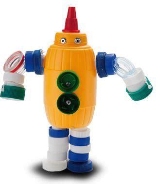 robots de trozos de botellas como hacerlos planos dise 241 os