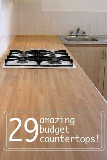 17 best ideas about cheap kitchen countertops on