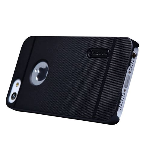Nillkin Frosted Shield Apple Iphone 5 5s Brown nillkin frosted shield for apple iphone 5 5s se black jakartanotebook