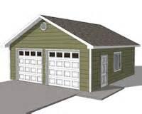 Free 2 Car Garage Plans by Custom Garage Plans Storage Shed Detached Garage Plans