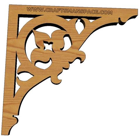 shelf bracket patterns plans diy free build a