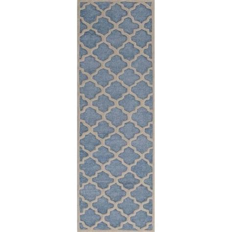 Safavieh Carpet Runners Safavieh Precious Runner Rug In Mist Blue Pre152m 28