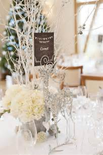 White winter wedding centerpieces ideas white winter wedding reception
