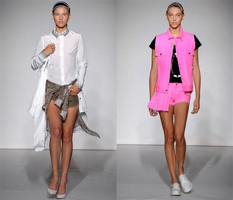 Fashion Week Schmoozes With Ziggy At The Unconditional Show by 2013 Summer Womens Runways Denim Denim