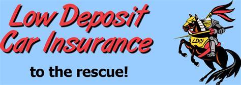 Low Car Insurance by Low Deposit Car Insurance