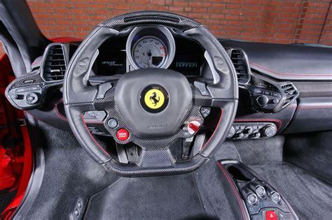 ferrari steering wheel mec design announces ferrari 458 spider upgrades