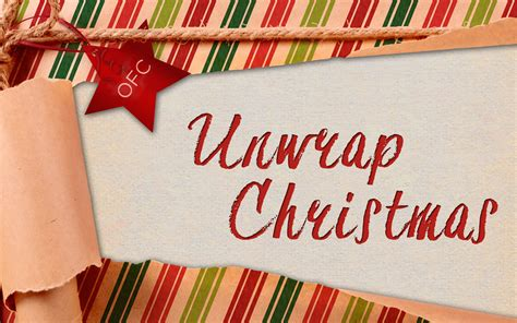unwrapping christmas sermons unwrapping sermon series decore