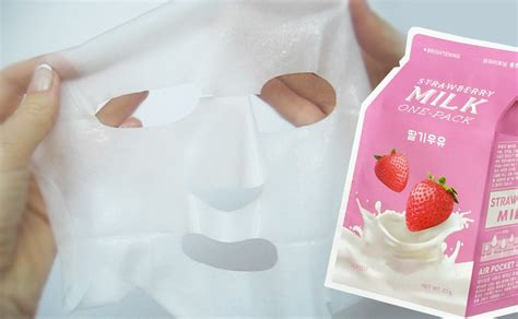 Masker Qiansoto Milk Strawberry recension a pieu strawberry milk one pack mask sheet mask k blogg sverige