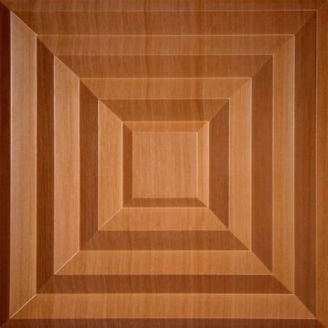 Plank Ceiling Tiles by Aristocrat Caramel Wood Ceiling Tiles