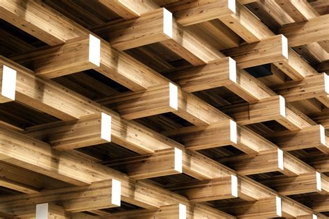kengo kuma associates yusuhara wooden bridge museum