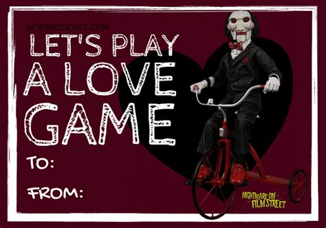 horror  themed valentines day cards   sick