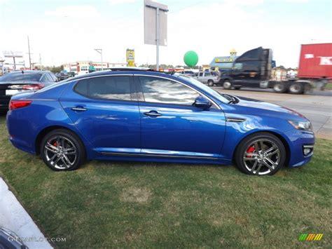 2013 Blue Kia Optima 2013 Corsa Blue Kia Optima Sx Limited 72597849 Photo 6