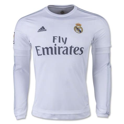 Jersey Real Madrid Home 15 16 Ls Original Bnwt Size Xl W Wcc 2015 16 real madrid home soccer jersey ls real madrid