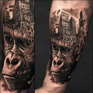 Planet of the apes 3d tattoo ideas tattoo designs