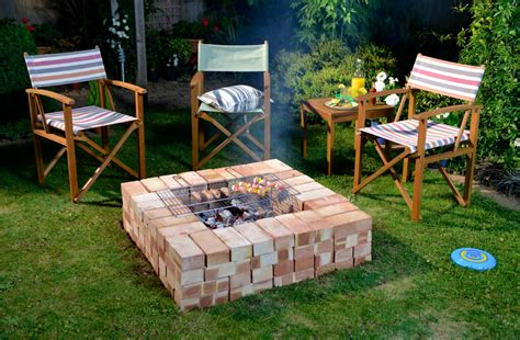 wickes pit build a bbq pit raised garden bed in an hour