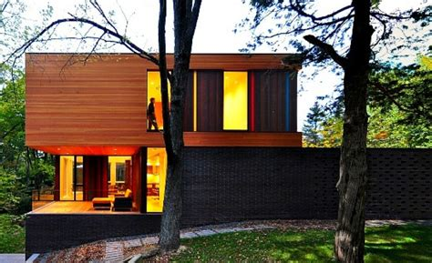 Small House Architecture Awards Fall House By Fougeron Architects 171 Inhabitat Green