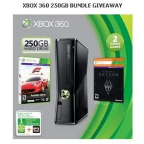 Xbox 360 Sweepstakes - win xbox 360 250gb bundle giveaway