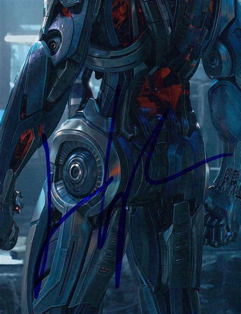 james spader hologram james spader signed quot avengers age of ultron quot 8x10 photo