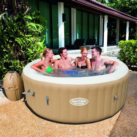swinging spa lay z spa palm springs inflatable hot tub spa review