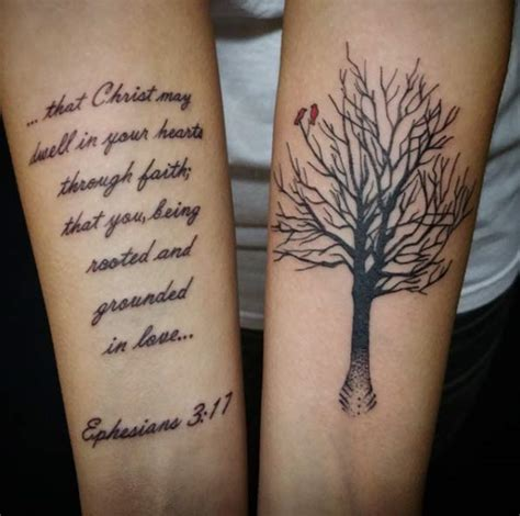 bible verse couple tattoos bible verse design on arm creativefan