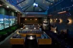 restaurant wohnzimmer artico rooftop lounge and restaurant at h 244 tel americano