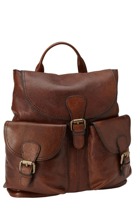 Fossil Back Pack fossil vintage reissue backpack in brown lyst