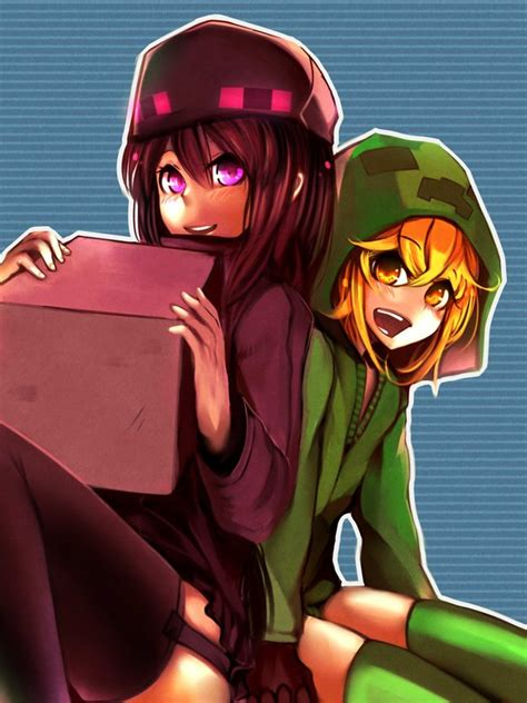 minecraft anime girl wallpaper 0f2d059d2f3e6a81759b24fadca3b3a4 jpg