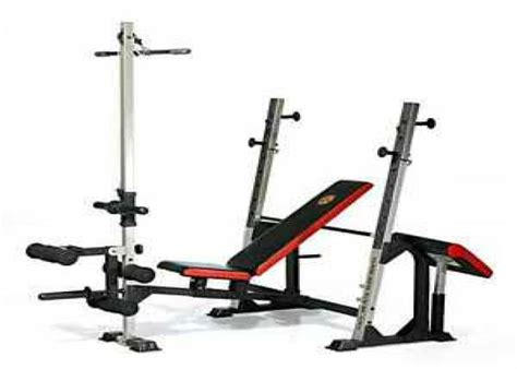 golds gym xr5 olympic weight bench golds gym xr5 espotted