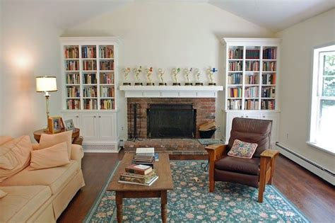 Shaker Living Room by Handmade Shaker Style Living Room Bookcases By Samuel