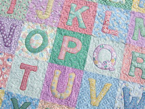 quilt pattern alphabet tamarack shack alphabet baby quilt